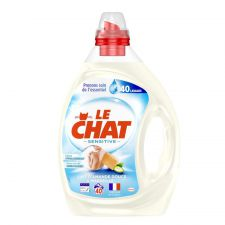 le chat sensitive lait d amande douce et marseille 40 lavages