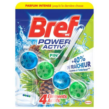 bref wc power activ pin
