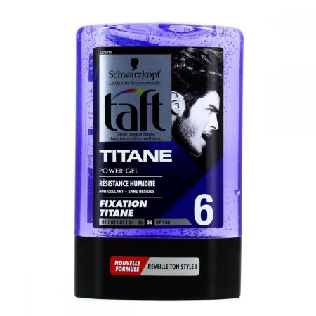 taft power gel titane