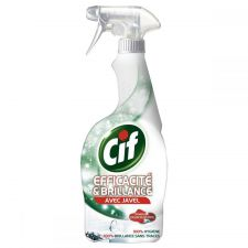 cif efficacite et brillance avec javel spray 750 ml