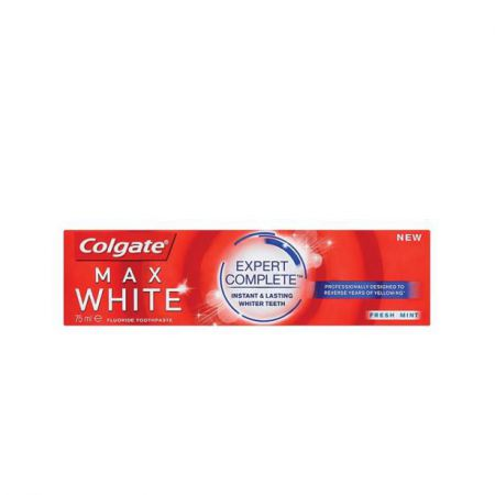 colgate max white 75ml dentifrice