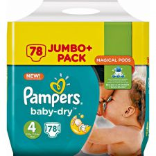 pampers baby dry t4 78pcs 9 14kg