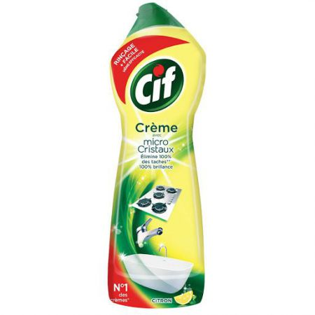 cif creme a recurer citron 750 ml